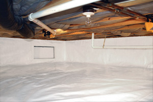 Crawl Space Repair After in Simpsonville