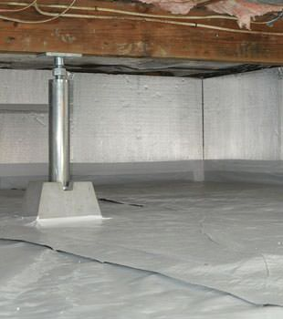 A Superior Solution For Sealing And Insulating Your Home S Crawl E