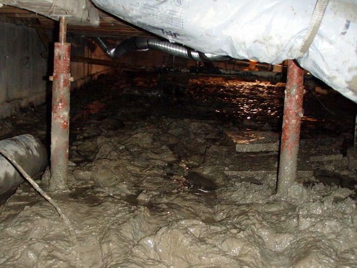 Repairing Sagging Floor Joists Amp Girders In Your Crawl
